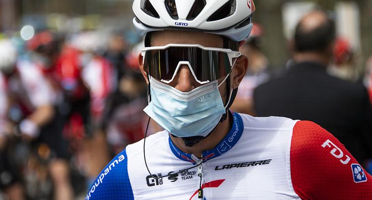 Abandon de Sébastien Reichenbach au Giro