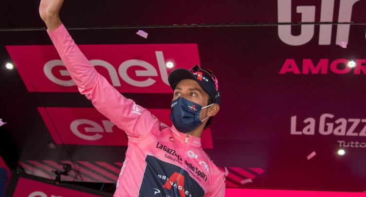 Caruso gagne la 20e étape, Bernal toujours en rose