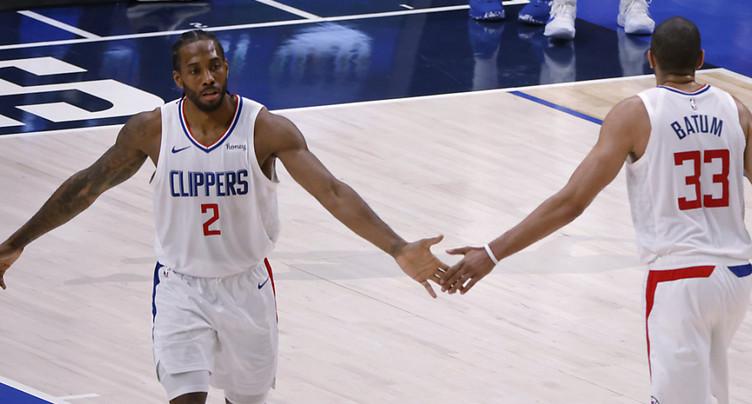 Les Clippers égalisent à 3-3 face aux Mavs