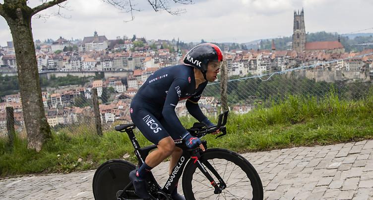 Dauphiné: Richie Porte s'empare du maillot jaune