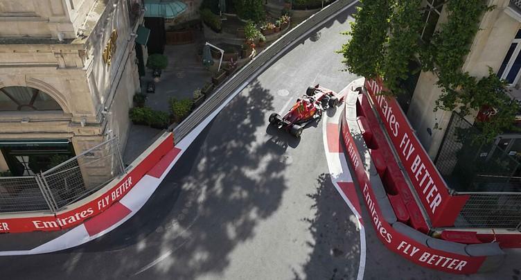 GP d'Azerbaïdjan: pole position pour Charles Leclerc