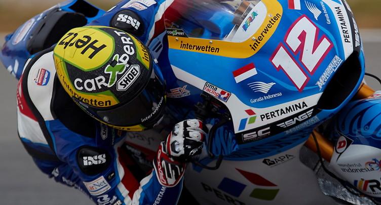 GP de Catalogne Moto2: Lüthi partira en 23e position