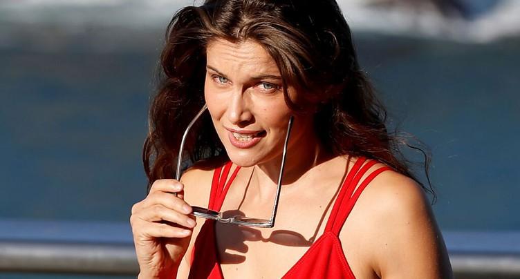 L'actrice française Laetitia Casta primée à Locarno
