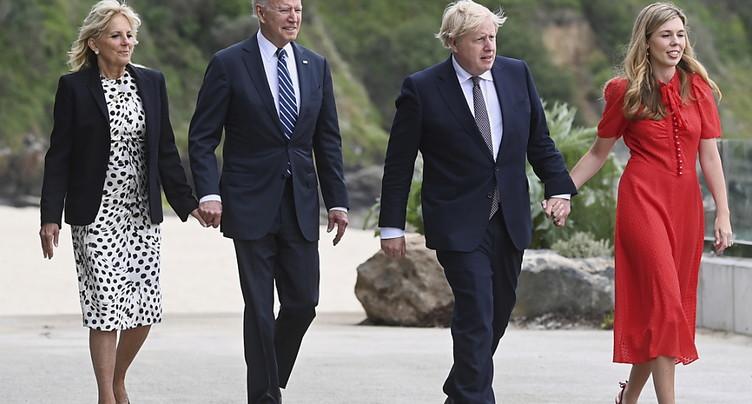 Biden et Johnson célèbrent leur alliance malgré les divergences