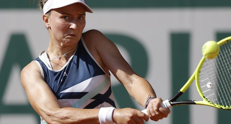 Barbora Krejcikova: lésée mais victorieuse
