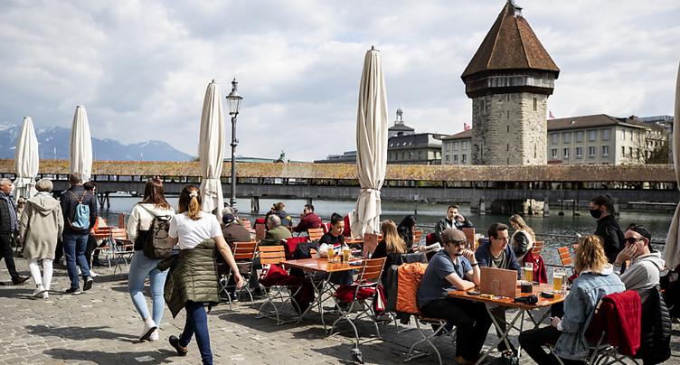 Prévisions de croissance relevées pour la Suisse