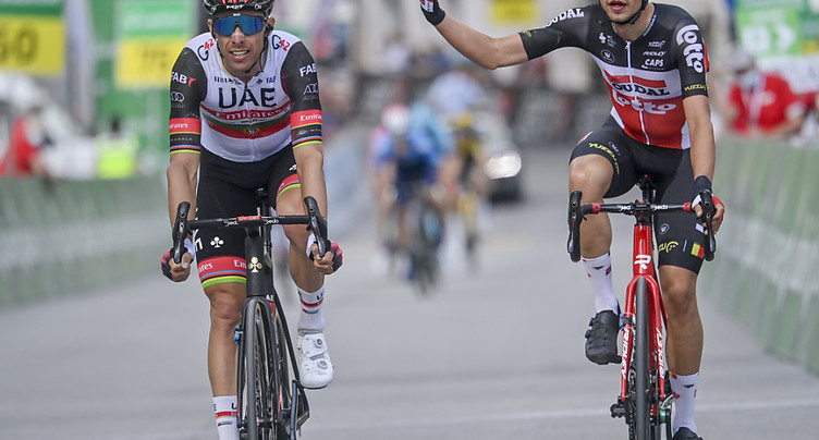 Tour de Suisse: vainqueur de la 6e étape désigné sur tapis vert
