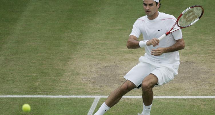 Un qualifié au premier tour pour Roger Federer