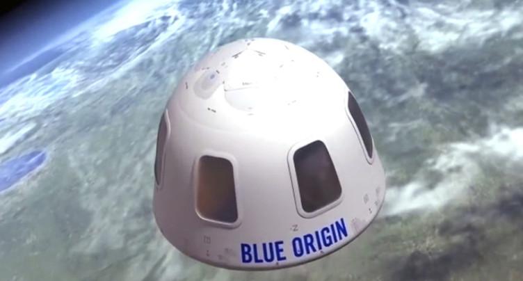 Une place pour un voyage dans l'espace à 28 millions de dollars