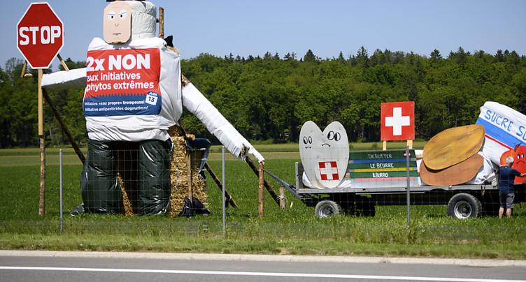 L'interdiction des pesticides de synthèse ne convainc pas le peuple
