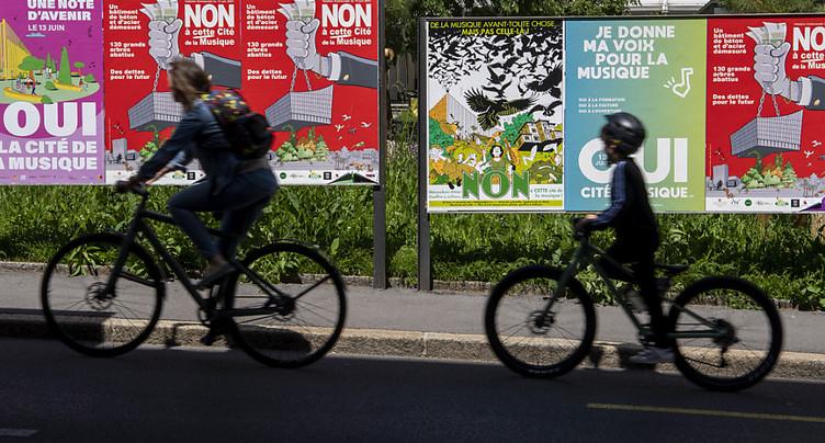 Ville de Genève: incertitude sur la Cité de la musique