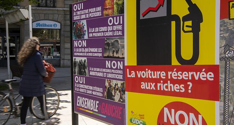 CO2: les Suisses ont voté avec leur porte-monnaie, selon la presse