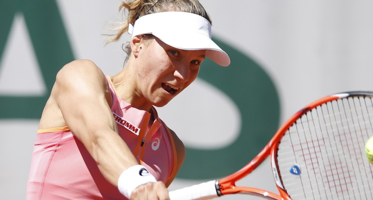 Une passe difficile pour Viktorija Golubic