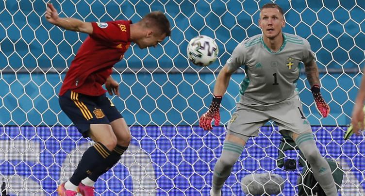 L'Espagne frustrée par la Suède