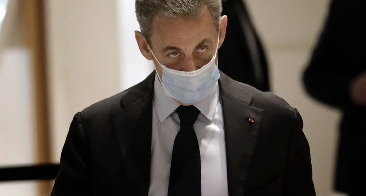 Procès Bygmalion: arrivée de Nicolas Sarkozy au tribunal