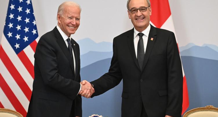 Parmelin pour un accord sur la formation avec Washington en 2021