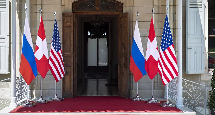 Sommet historique entre Biden et Poutine à Genève