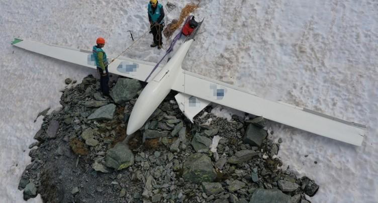 Chute d'un avion et d'un planeur à Bivio (GR): victimes identifiées