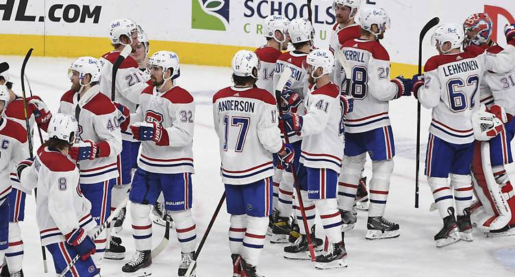 Le Canadien a pris la main