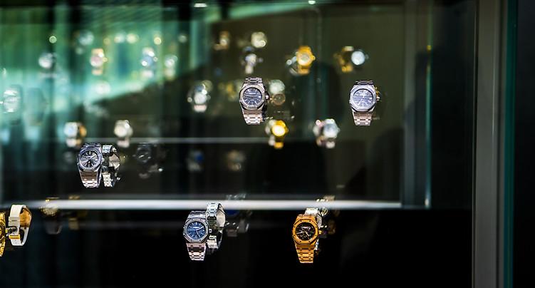 Les exportations horlogères de mai ont reculé par rapport à 2019