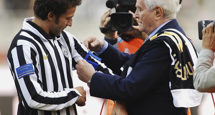Décès à 92 ans de Boniperti, légende de la Juventus