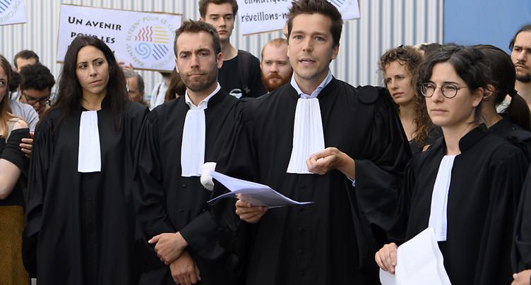 Les 30 activistes du climat condamnés par la justice fribourgeoise
