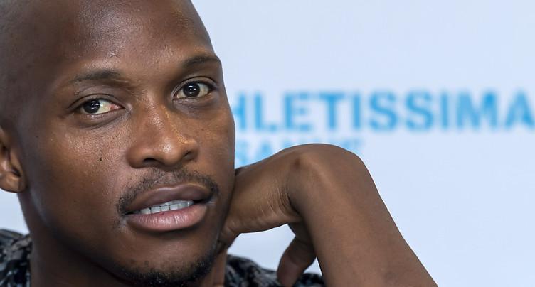 Le Sud-Africain Manyonga suspendu 4 ans