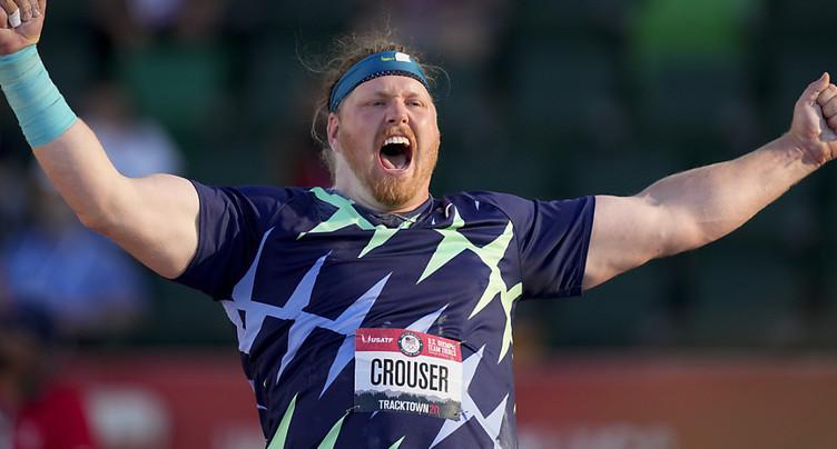 Ryan Crouser bat un record du monde vieux de 31 ans