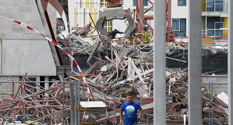 Trois morts et deux disparus sur le chantier d'une école à Anvers