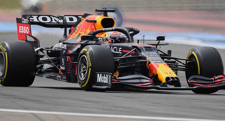 Verstappen (Red Bull) en pole position au Grand Prix de France