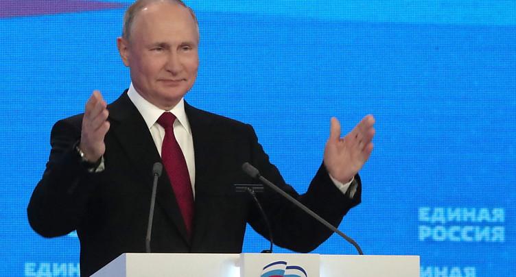 Poutine promet des milliards de roubles avant les législatives