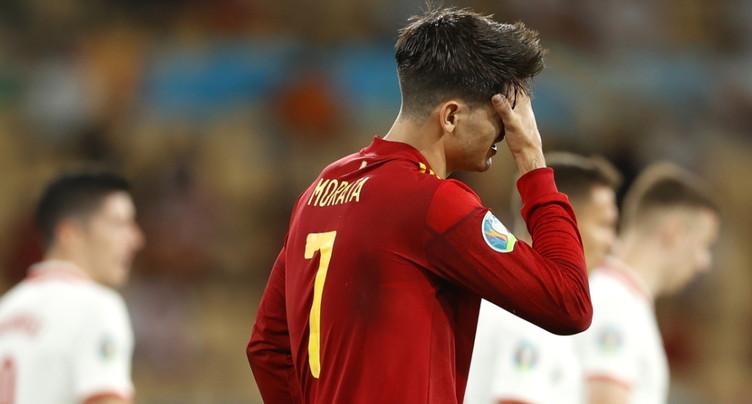 La Pologne contraint l'Espagne au nul