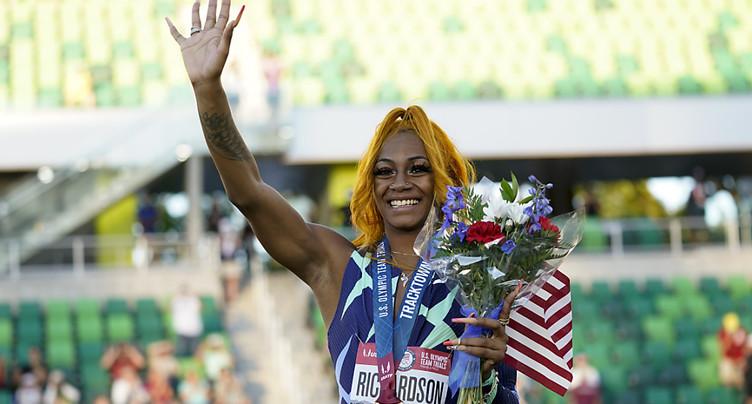Richardson obtient son visa pour Tokyo sur 100 m, Bromell part fort