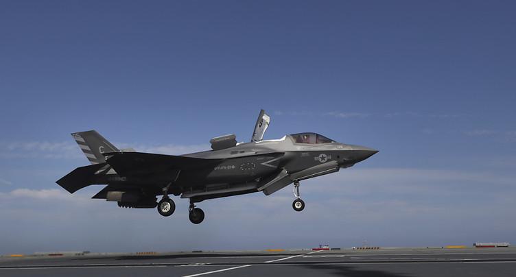 L'avion de combat américain F-35 semble avoir les faveurs du DDPS