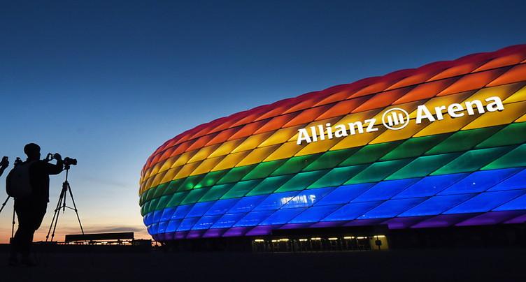 L'UEFA sous le feu des critiques après le « rainbow-gate » de Munich