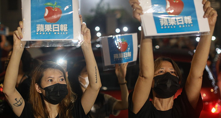 Le journal critique de Pékin Apple Daily va cesser de paraître
