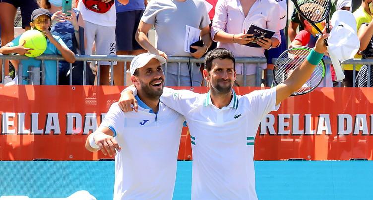 Djokovic renonce à la finale du double