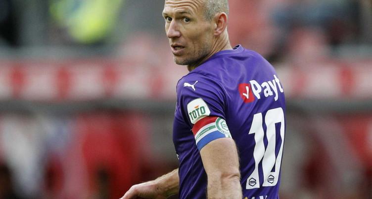 Arjen Robben arrête définitivement