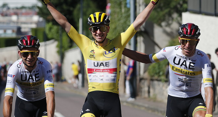 Les « Champs » pour van Aert, la victoire finale pour Pogacar