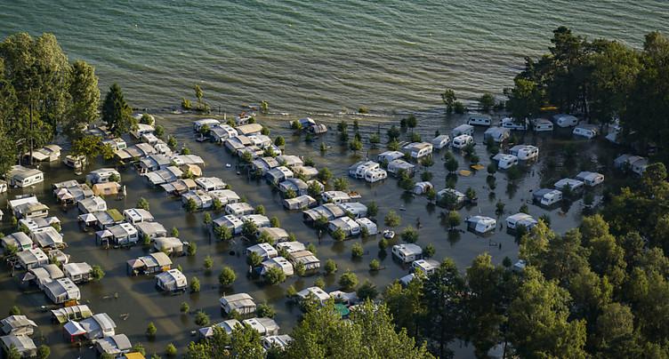 L'ECA indemnisera les caravanes et les habitations inondées