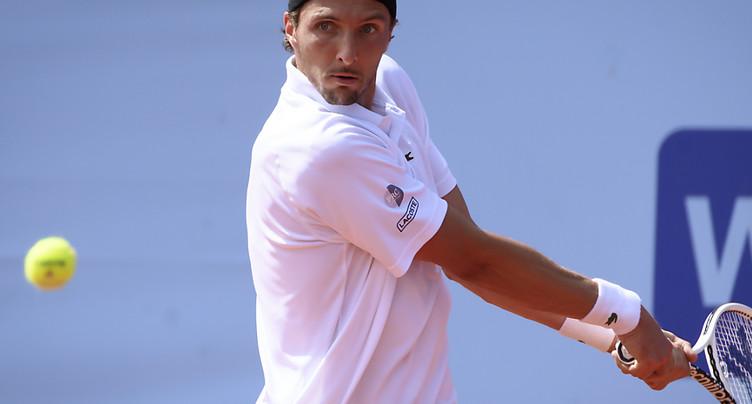 Arthur Rinderknech sort Roberto Bautista Agut au Swiss Open
