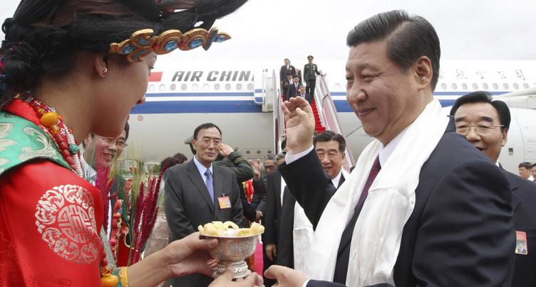 Xi Jinping au Tibet, 1ère visite présidentielle depuis 31 ans