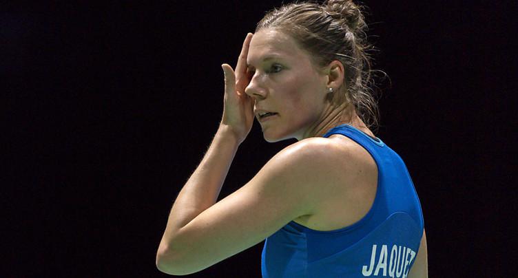 Sabrina Jaquet joue de malchance
