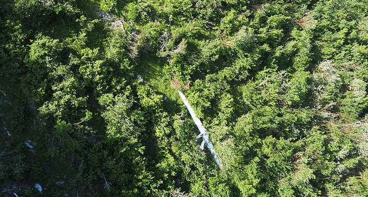 Un pilote de motoplaneur se tue en Valais