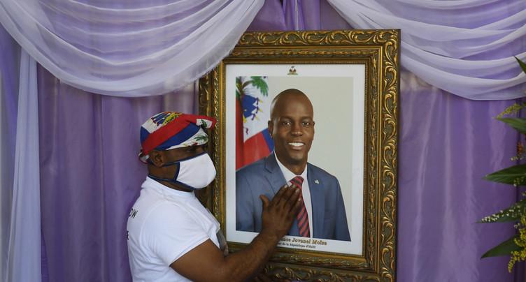 Dernier hommage au président Jovenel Moïse