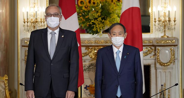 Guy Parmelin a rencontré le Premier ministre japonais