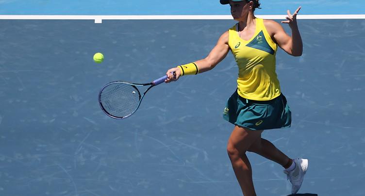 Ashleigh Barty éliminée dès le 1er tour