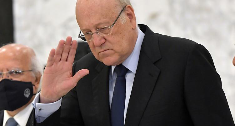 Crise au Liban: Najib Mikati chargé de former un gouvernement