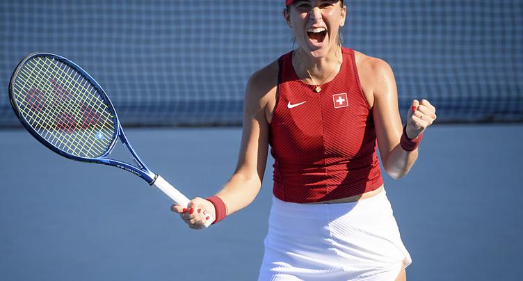 Belinda Bencic à une victoire d'une médaille