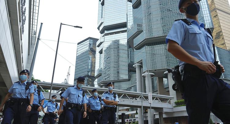 Hong Kong: premier suspect reconnu coupable en vertu de la loi sur la sécurité